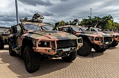 1RAR Hawkei Protected Mobility Vehicle - Light