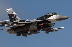 F-16C Aggressor Cope North 2020 Guam