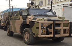 Jamaica Defence Force Bushmaster PMV-M