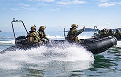 Royal New Zealand Engineers FC530 Combat Engineer Watercraft