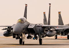 USAF F-15E Syria with RAAF Weapons Officer