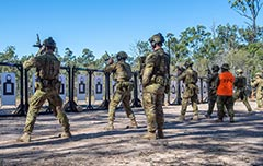 8/9RAR resumes training Greenbank TA range