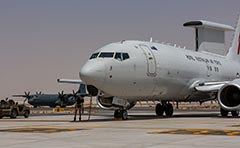 RAAF E-7A Wedgetail Iraq Syria