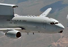 RAAF E-7A Wedgetail Iraq Syria April 2020