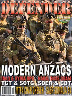 Australian & NZ Defender No 108 Summer 2019 FINAL ISSUE