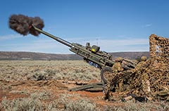 Australian Army M-777A2 Lightweight Towed Howitzer
