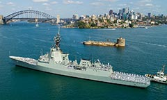 HMAS Brisbane Hobart class destroyer