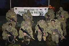 2RAR Cambrian Patrol Team 2019