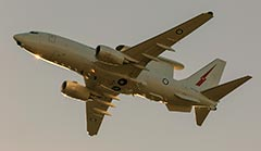RAAF E-7A Wedgetail Strait of Hormuz