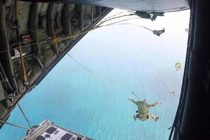 NZSAS Parachute Load Follow