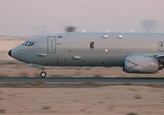RAAF P-8A Poseidon  on International Maritime Security Construct Strait of Hormuz missions.