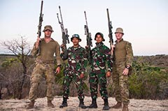 5RAR and KOSTRAD Snipers Wirra Jaya 2019