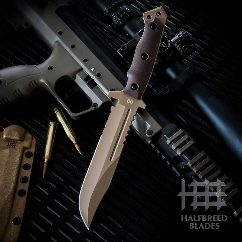 Halfbreed Blades LIK01 Large Infantry Knife